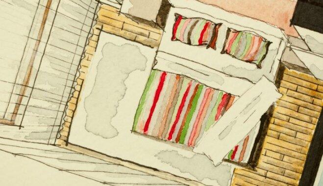 No defekta par efektu: knifiņi, kā mazu guļamistabu padarīt šķietami lielāku