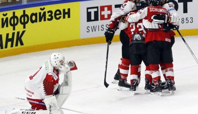 Швеция вышла в плей-офф ЧМ, Беларусь впервые за 15 лет покинет высший дивизион