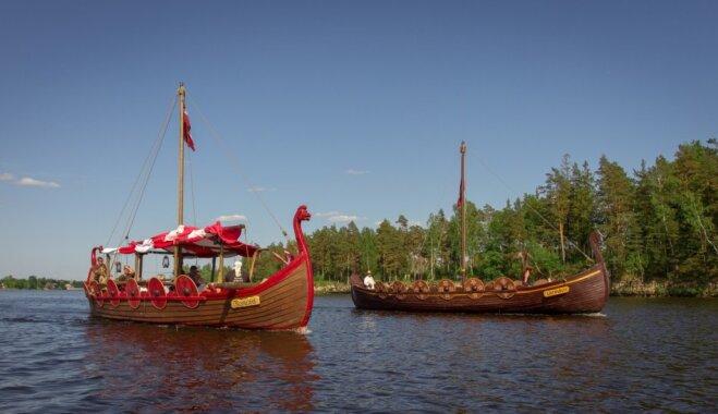 Koknesē aicina izbraukt ar vikingu laivām pa Daugavu un pamodināt samu