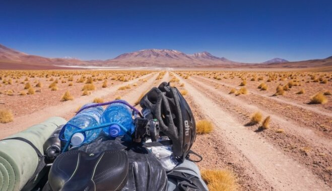 Это было лучшим решением в моей жизни. Как лиепайчанка Марика пересекла на велосипеде обе Америки