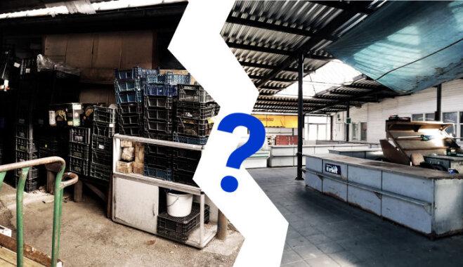 Пустой и ещё пустее: Delfi исследует рынки на Югле и в Межциемсе