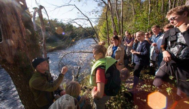 Izveidota jauna krastošanas taka gar Ogres upi
