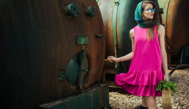 Foto: Apģērbu zīmols 'ZIB*' izrāda jauno vasaras kolekciju