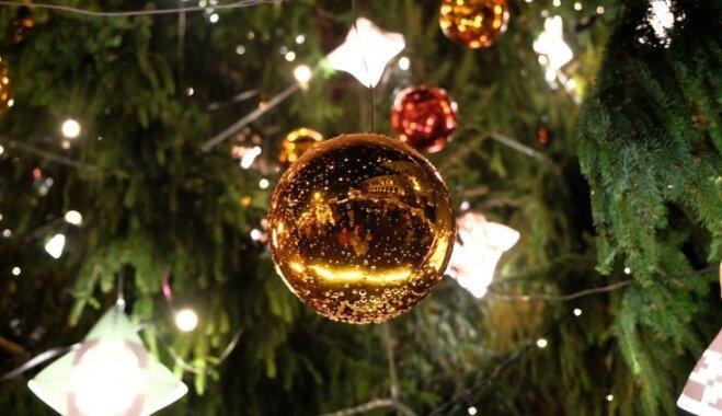 Nedēļas nogalē Rēzeknē iedegs pilsētas galveno Ziemassvētku egli
