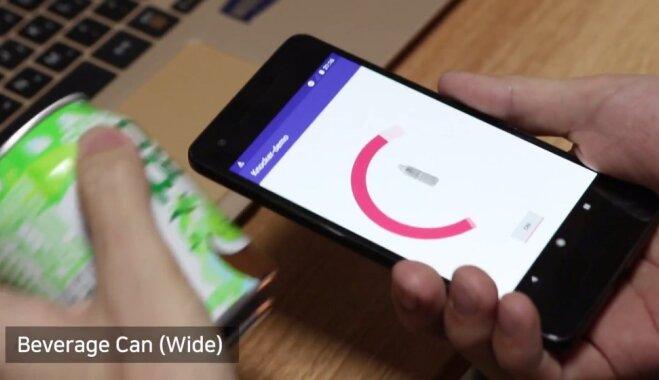 В Южной Корее создали приложение, позволяющее опознать предмет, постучав по нему смартфоном