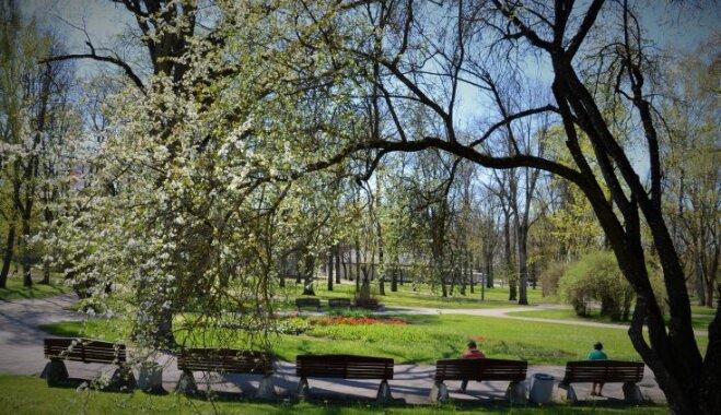 Šarmantais Vecpuišu parks: ar ko īpaša šī patriotiskā vieta Valmierā