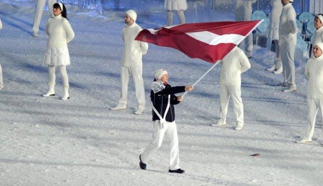 Latvijas olimpieši trešdien izvēlēsies karognesēju