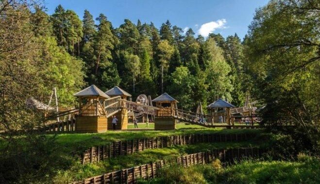 Jubilejas svinības LVM dabas parkā Tērvetē