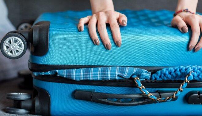 Kā likt mantas rokas bagāžā, lai paņemtu pēc iespējas vairāk lietu