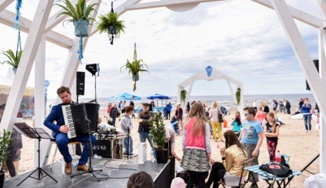 Saldējuma festivāls, latino ritmi un uguņošana: Jūrmalā norisināsies Kūrorta svētki