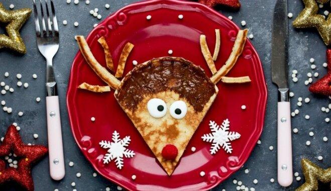 Saldās Pirmo Ziemassvētku brokastis bērniem – gardas idejas palutināšanai