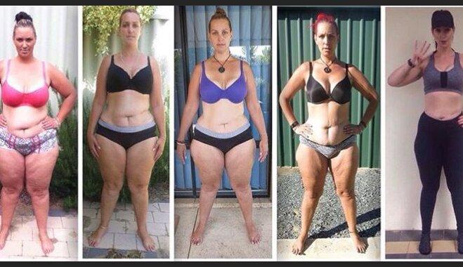 ФОТО. Как снимок в Facebook заставил молодую маму похудеть на 70 кг