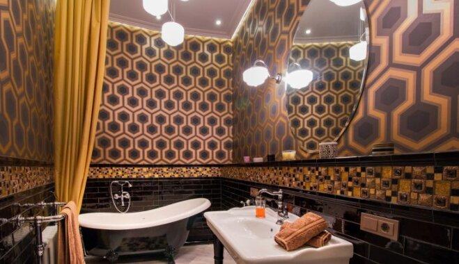 Art Deco paraugdemonstrējums – smalkā stila dzīvoklis Brīvības ielā
