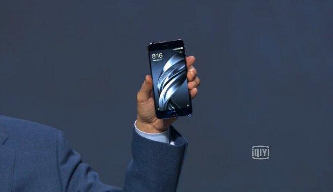 """Xiaomi официально представила Mi 6: мощный флагман со """"стеклянным"""" корпусом"""