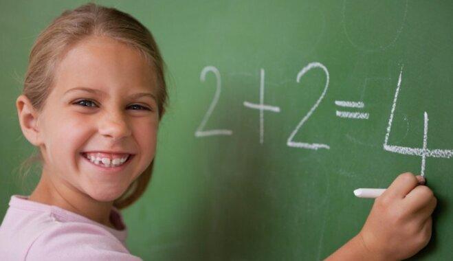 Rēķināt galvā ātrāk nekā ar kalkulatoru – to bērniem sola mentālās aritmētikas apgūšana