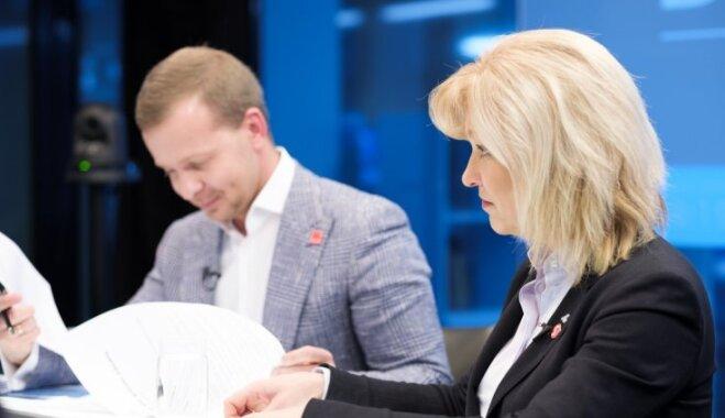 Statisti, eņģelis un derības par Ušakova atlaišanu – 'Saskaņa' pret 'Nacionālo apvienību'