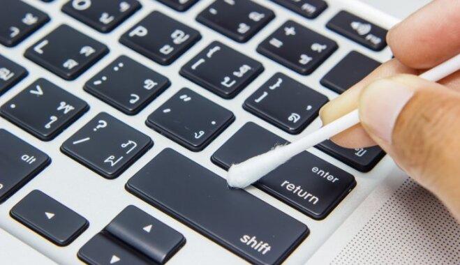 Kā izpucēt klaviatūru – vienu no netīrākajām vietām mājās