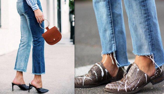 Bārkstis, pērles un personalizētais šiks: džinsa rudens aktualitātes