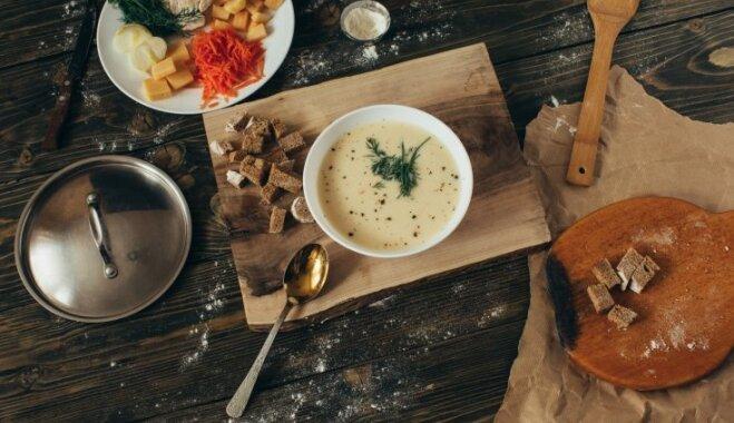 Нежный суп-пюре из цветной капусты