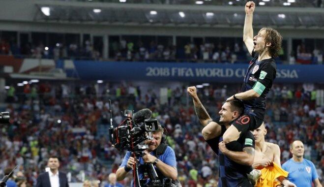 Футболисты сборной Хорватии после матча с Россией: они — команда с яйцами