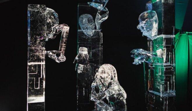 В Елгаве продолжается Фестиваль ледовых скульптур