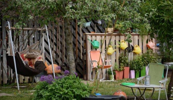 Sešas radošas idejas, ko aizņemties no Talsu novada skaistākā dārza