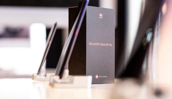 Huawei представила флагманские смартфоны Mate 20 и Mate 20 Pro