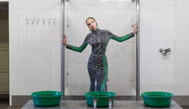 ФОТО. Как в эстонской бане снимали девушек для модного журнала