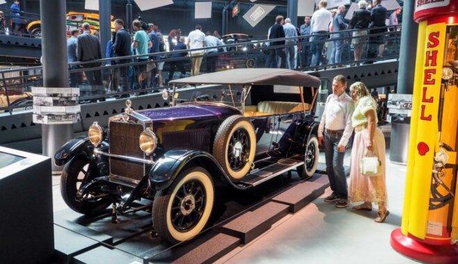 Dziesmu svētku dalībnieki var bez maksas apmeklēt Rīgas Motormuzeju
