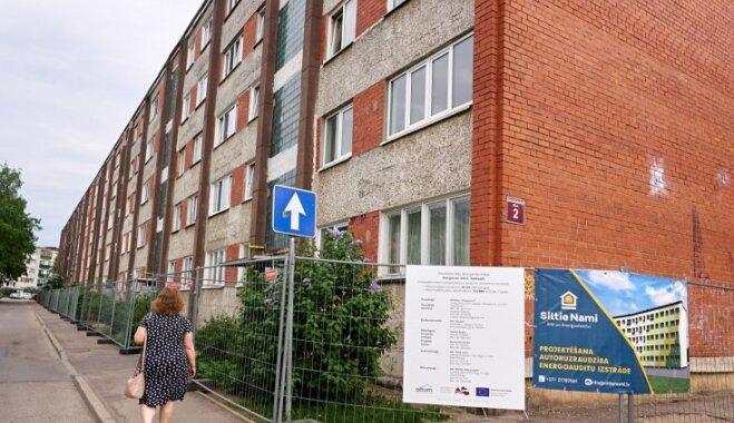 No saplaisājušas ēkas kritiskā situācijā līdz Latvijā vērienīgākajai renovācijai: Salaspils stāsts