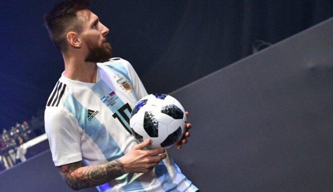 Зидан, Месси и Дель Пьеро представили официальный мяч ЧМ-2018