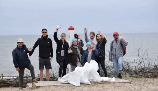 Ceļā devušies ekspedīcijas 'Mana jūra' dalībnieki; apsekos tīrākās un netīrākās pludmales