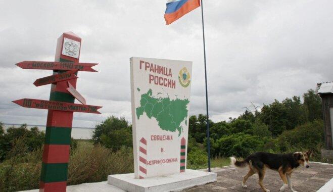 Tūkstošiem futbola fanu 'iestrēguši' uz Baltkrievijas un Krievijas robežas