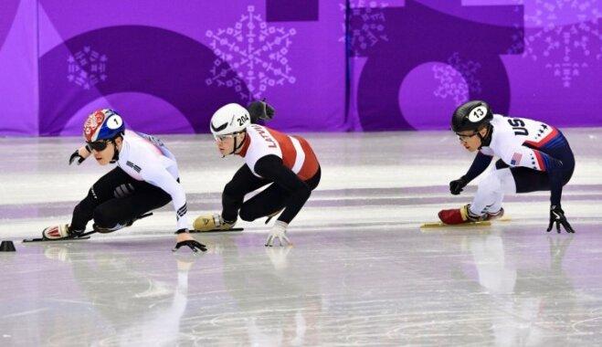 Šorttrekists Puķītis Phjončhanas spēļu 1500 metru distancē ierindojas 11. vietā