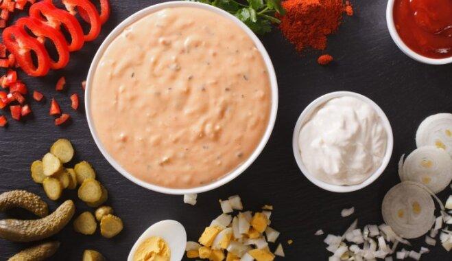 Kā pašam pagatavot izcilu Tūkstošsalu mērci salātiem un jūras veltēm