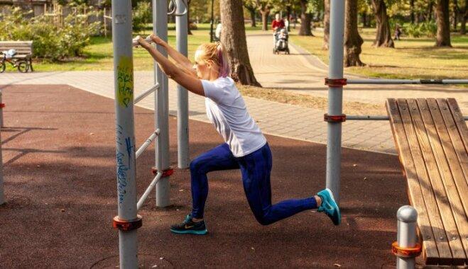 Izkusties parkā! Trenera ieteikumi vingrošanas laukuma izmantošanai