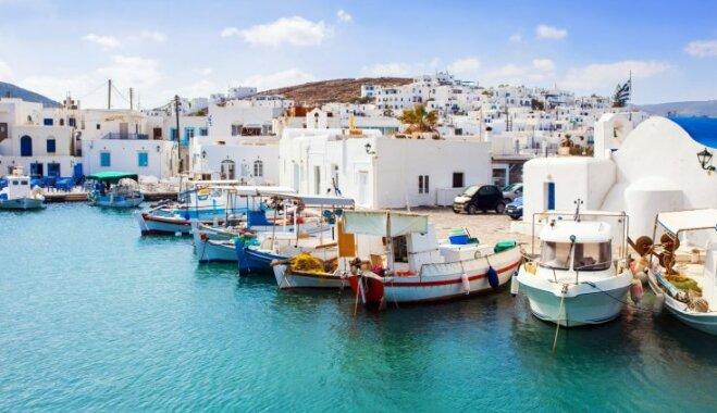 Nosaukta labākā sala Eiropā: slēptā Grieķijas pērle Parosas sala