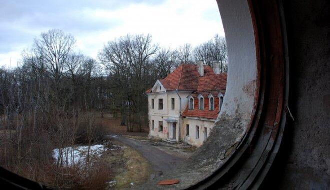 ФОТО: Руины поместья Кауцминде — школы лучших хозяек независимой Латвии