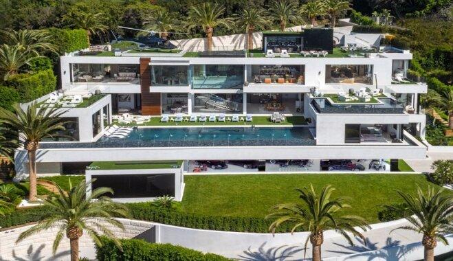 Boulinga zāle, konfekšu istaba un četri baseini: Bejonsas un Jay Z eksotiskā savrupmāja