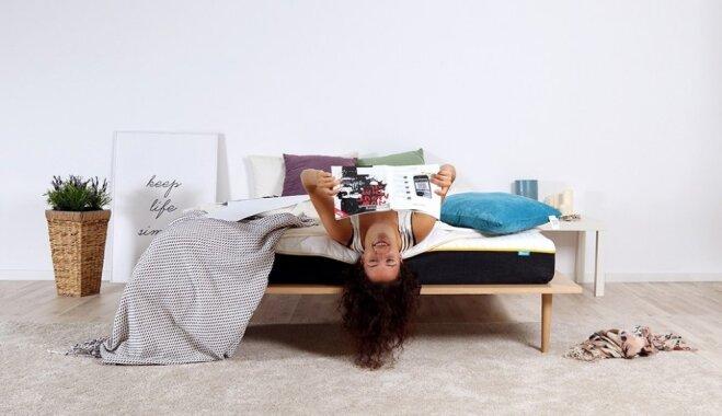 Iepazīsti matraci 'Napsie' – 'guļošās industrijas' modinātāju