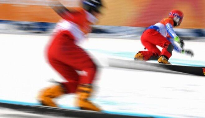 XXIII Ziemas olimpisko spēļu rezultāti snovbordā vīriešiem paralēlajā milzu slalomā (24.02.2018.)