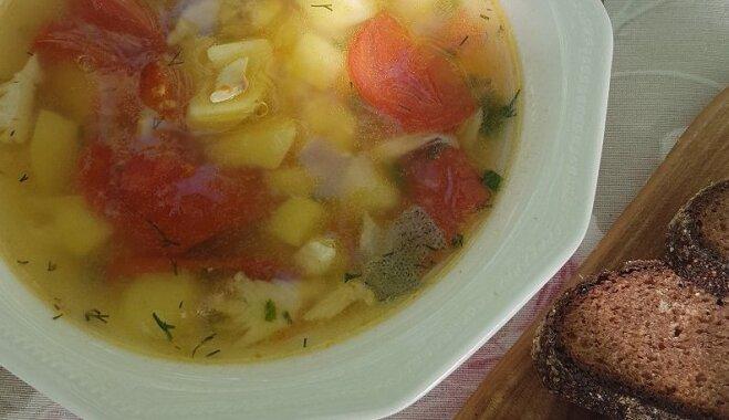 Novadu kulinārais mantojums: Latgales zivju zupa ar šmakovku
