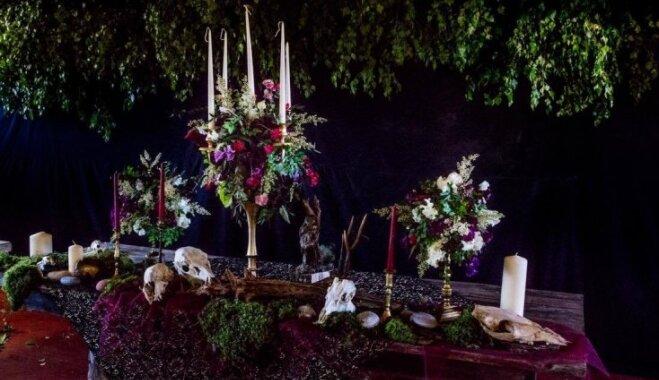 Melnās kāzas: laimīgais notikums neierastās noskaņās
