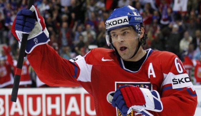 Jāgrs Čehijas izlases sastāvā piedalīsies savās piektajās olimpiskajās spēlēs