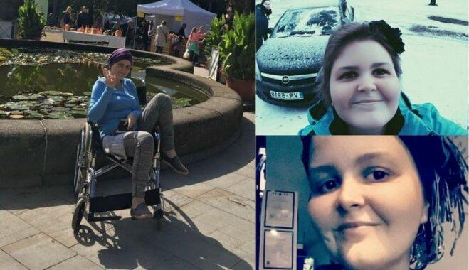 Mirusi ar vēzi slimā Odrija, kuras ārstēšanai ziedoja līdzcilvēki
