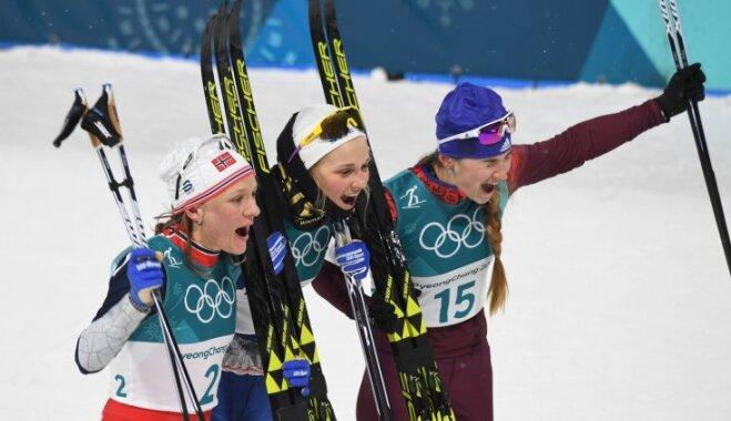 Россия получила две медали в лыжных гонках на Олимпиаде в Пхенчхане