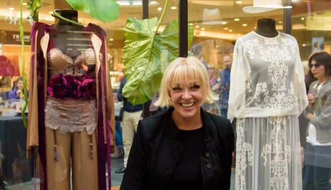 Elegance ar huligānisma pieskaņu – tērpi, ko Laimai Vaikulei darinājuši pašmāju dizaineri