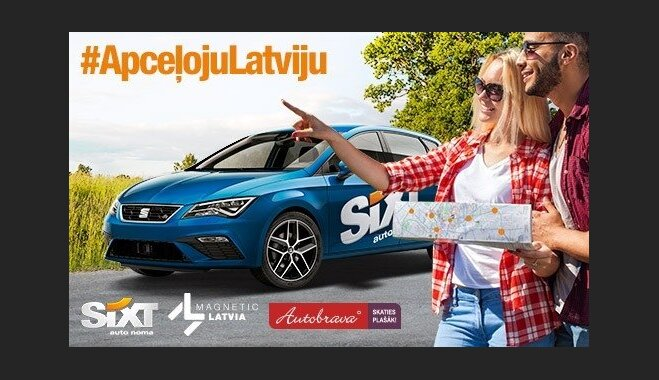 4 maršruti Latvijas apceļošanai ar auto. Latgale, Kurzeme, Vidzeme un Zemgale