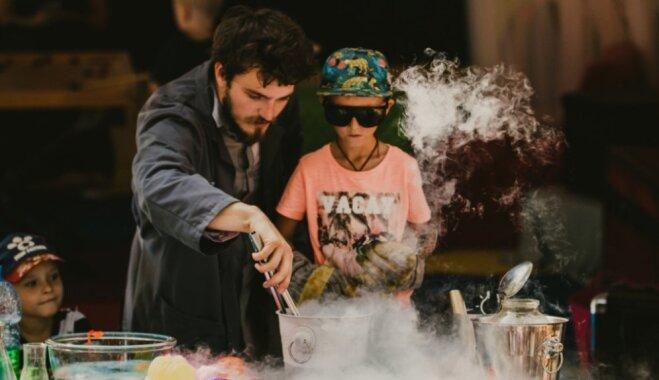 Kultūras pilī 'Ziemeļblāzma' norisināsies darbnīcas bērniem un zinātniskais šovs