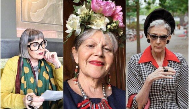 Elegance un gaumīgas 'odziņas': Milānas dāmas rāda īstenu stilu